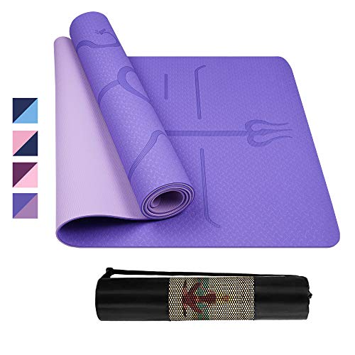 spessore extra Da ginnastica tappetino yoga tappetino yoga pilates SPORT TAPPETO 190 x 60 x 1,5 cm