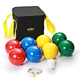 Best Bocce Ball Sets - A11N SPORTS 90mm Bocce Ball Set with 8 Review
