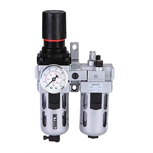 BFC3000 G3//8 Oil Water Separator Industrial Lubricator Overflow Type Valve Air Source Treatment Unit Filter to Purify Tiny Particles Filter Moisture in Air