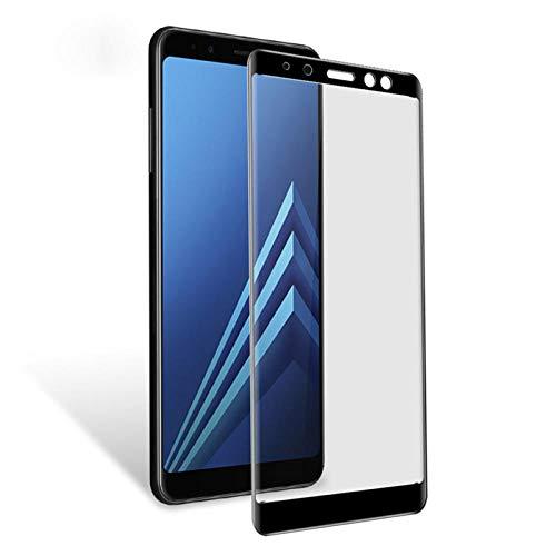 PANGLDT [3 Paquetes] Protector de Pantalla para Samsung Galaxy A8 Plus 2018 A5 A7 A3 2017 J3 J5 J7 2016 S7 S6 S5 Vidrio Templado para Samsung A8 para A5 A5100 2016_Dorado_para A5 A5100 2016_Dorado