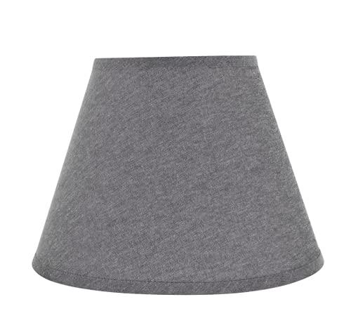 Best grey burlap lamp shade