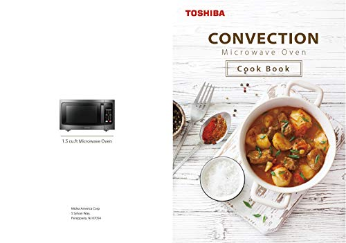 Microwave Cookbook: Easy Recipes Ⅱ: For Toshiba Convection Microwave Ovens