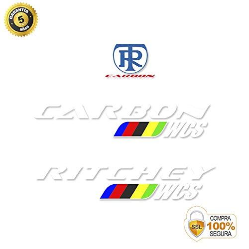 Fahrrad Aufkleber - Fahrrad dekorative Aufkleber - Vinyl Fahrrad Aufkleber Set RITCHEY STICKERS STUUR FIETS