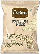 Exotica Natural Psyllium Whole Husk | Sat Isabgol (Bhusi) Husk - 400 Grams Fiber Supplement - Perfect for Keto Bread and G...
