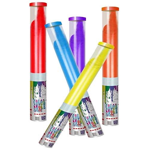 5 stuks Holi Powder Shooter kleurpoeder kanon party plezier met 7 kleuren van 60 g Holi Powder