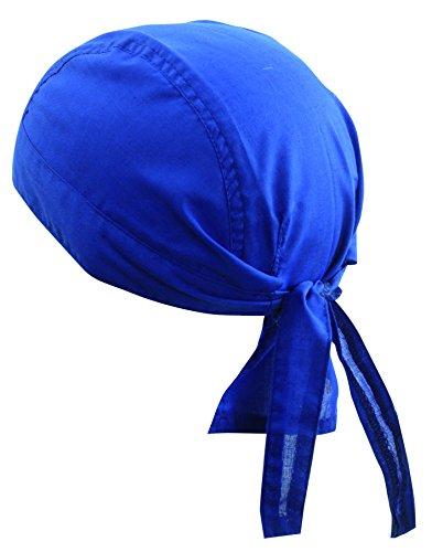 Casquette bandana en noir - 100% Cotton