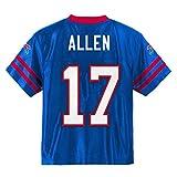 Josh Allen Buffalo Bills #17 Blue Youth Player Home Jersey (Medium 10/12)