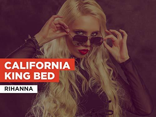 California King Bed im Stil von Rihanna