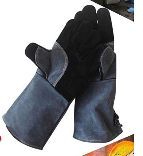 HGFHFHIO Geïsoleerde handschoenen, een paar grillhandschoenen, hittebestendige handschoenen, magnetronoven gebakken geïsoleerde open haard in de open lucht