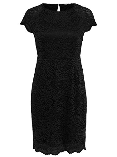 ONLY Damen Kurzkleid Spitzen 34Black