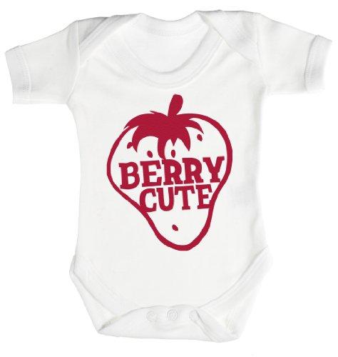 Baby Buddha - Berry Cute Body bébé 6-12 Mois Blanc