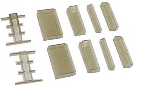 Flowbee Spacer Kit Authentic 10piece Clear Spacer Kit for Flowbee Haircutting System (Spacers)
