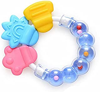 Teething Toys BPA Free Silicone Baby Teether for Sensory Exploration and Teething Relief Silicone Molar Bracelet Perfect S...