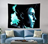 Shawn Tapestry Wall Hanging Home Decor Fans Artist for Bedroom Living Room Dorm 60 X 50 Inch