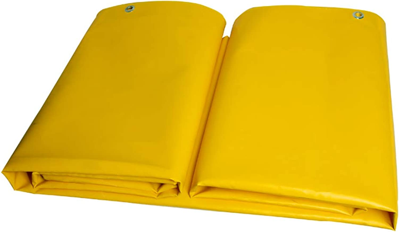 MSNDIAN Goldene Goldene Goldene gelbe PVC-Messer kratzen Tuch Regen Tuch Plane wasserdicht Sonnenschutz Tuch dicken Leinwand Push-Pull-Top-Tuch Outdoor-Sportartikel B07MFCRBLD  Modern 45e397