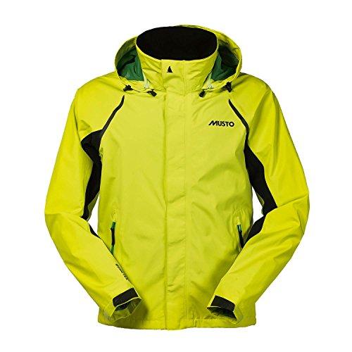 Musto Evolution Sardinia Gore-Tex Coat Jacke Coat Vivid Yellow - Leichtgewicht. Wasserdicht und atmungsaktiv