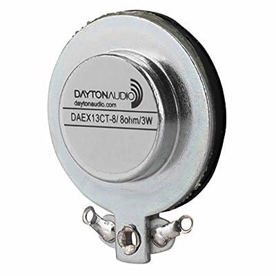 Dayton Audio DAEX13CT-8 Coin Type 13mm Exciter 3W 8 Ohm by Dayton Audio