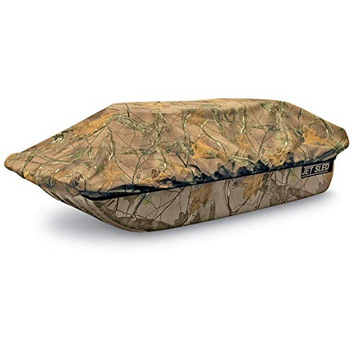 Shappell Camo Ice Fishing Jet Sled 1 with Sled Travel Cover