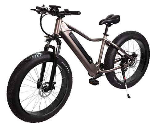"E-Fatbike ""Fat Tire 500"", 40 km/h, 500 Watt, 48V/10,4 Ah Lithium-Akku, Elektro Fat Bike, 26 Zoll, E-Bike, Elektrofahrrad, Fahrrad, E-Fahrrad"