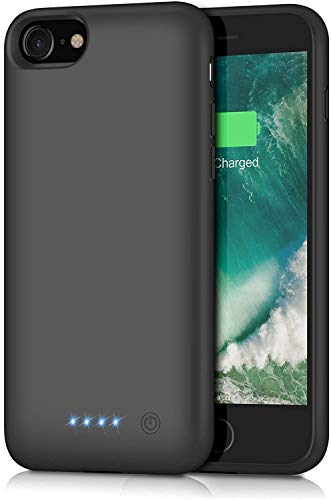 Battery Case for iPhone 8/7/6s/6/SE(2020),[6000mAh] Protective Portable Charging Case Rechargeable Charger Case Extended Battery Pack for Apple iPhone 8/7/6s/6/SE(2020) (4.7inch)