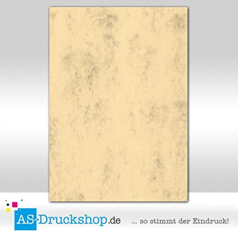 Farbiges Papier Schreibpapier - Chamois marmora   100 Blatt DIN A4   100 g-Papier B07D5F4SG7 | Authentische Garantie