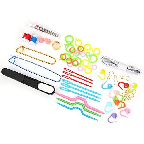 Ganchos de ganchillo, aguja de tejer profesional práctica multifuncional para amantes del tejido o principiantes para manualidades