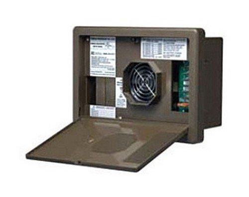RV Trailer Camper Electrical 8700 Series Power Center 35A Black WF-8735-PB