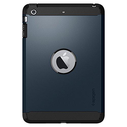 Spigen Tough Armor Kompatibel mit iPad Mini 3 Hülle/iPad Mini 2 Hülle/iPad Mini Hülle - Metal Slate