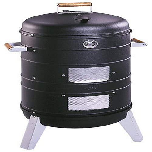 Americana Charcoal Combo Water Smoker that converts into a Lock 'n Go...
