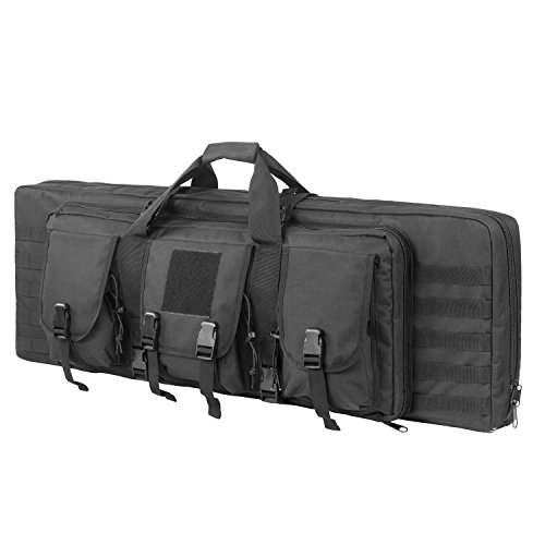 ARMYCAMOUSA 38 Inch Double Rifle Bag Outdoor Tactical...