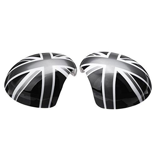 FeLiCia Union Jack Wing Mirror Deckt Den Power-Fold-Spiegel Für Mini Cooper R55 R56 R57 R60