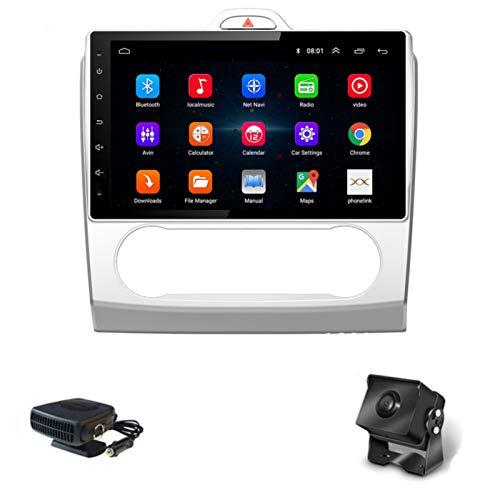 XMZWD Autoradio con Navigazione GPS Android 8.1,1080P Da 9 Pollici, per Ford Focus 2004-2011, con Controllo Al Volante, Bluetooth, Collegamento Specchio Chiamate A Mani Libere Dab SWC
