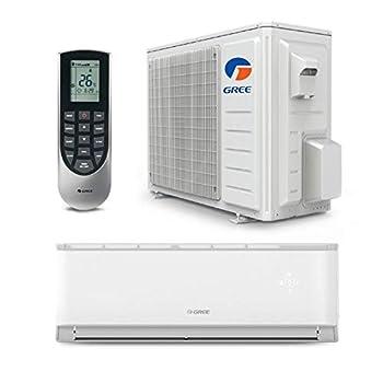 GREE 9,000 BTU 17 SEER LIVO Gen3 Wall Mount Ductless Mini Split Air Conditioner Heat Pump 208/230V - Built-in Wi-Fi