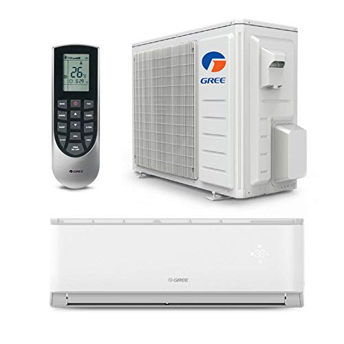Gree 9,000 BTU 17 SEER LIVO Gen3 Wall Mount Ductless Mini Split Air Conditioner Heat Pump 208/230V