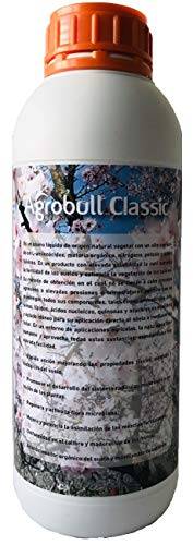 | AGROBULL | Jabón Potásico | Tratamiento Natural contra Las plagas | Fertilizante orgánico de Alta eficacia Biodegradable | (1 Litro)