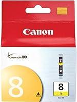 Canon CLI-8Y - Cartucho de tinta para Canon Pixma, color amarillo