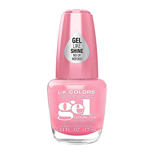 l a colors gel nail polishes L.A Colors Color Craze Extreme Shine Gel Like Nail Polish (Gossip CNL221)