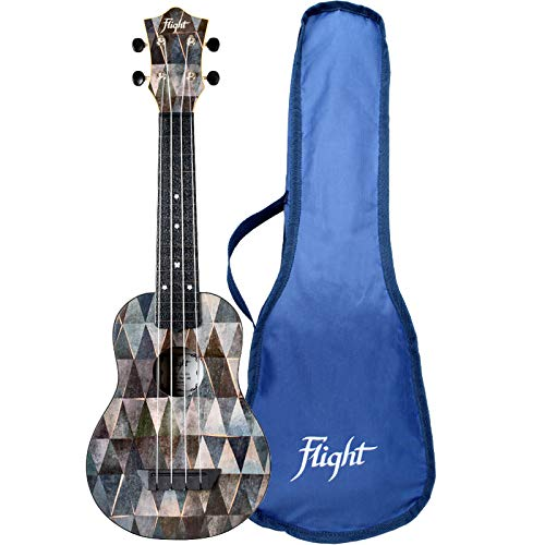Flight, 4-String Travel Series Soprano Ukulele, Arcana (TUS-40