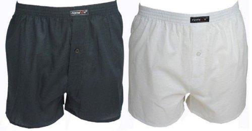 Remixx, boxershorts voor heren, pak van 6 stuks met modieuze controles, katoen 100 -  - Medium