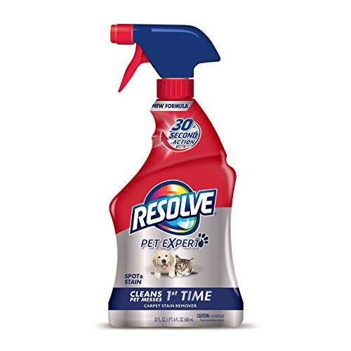 Resolve Pet Expert Carpet & Upholstery Cleaner - Removes Stains and Odors, 22 oz