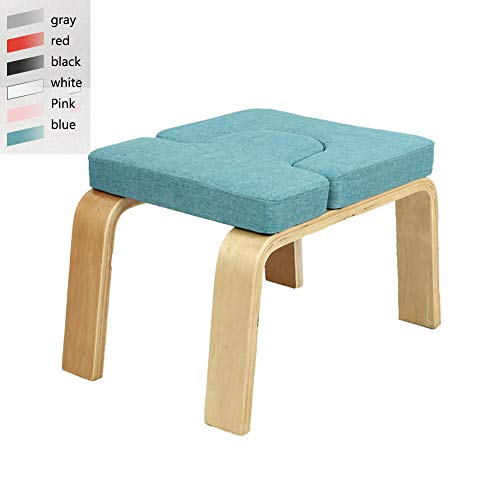 Purchase Juup Yoga Inversion Chair Headstand Bench-Wood and PU/Cloth Pads Yoga Sports Exercise Bench...