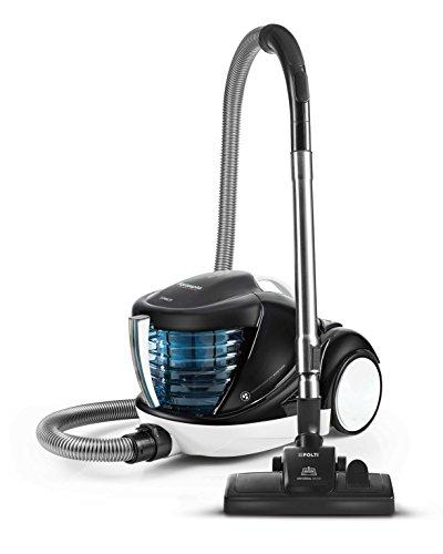 Polti Forzaspira Lecologico Aqua Allergy Natural Care Aspirador sin Bolsa con Filtro de Agua, 6 accesorios, 1 L, Azul