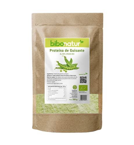 Bibonaturt Proteina Guisante 80% Bio Bibonaturt 200 gr