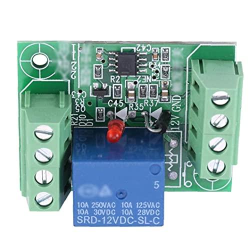 Odoukey-Odoukey-Módulo de retransmisión de un solo canal de relé DC 12V Circuito de biestable Tablero de control de interruptor de activación