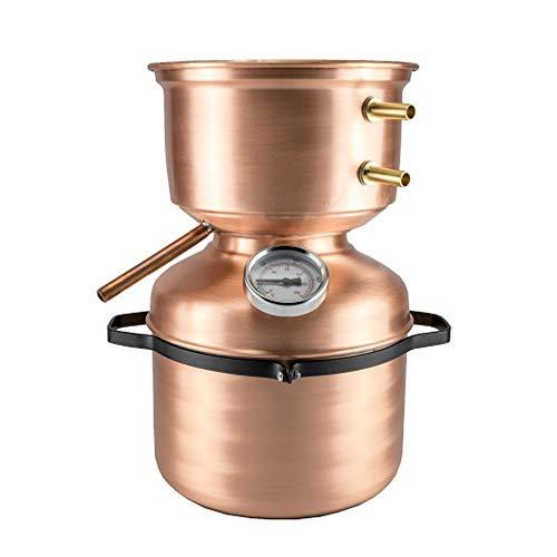 Distillatore Alambicco in Rame 5 litri modello a Fungo