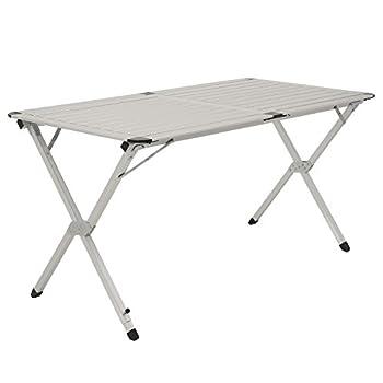 cs-trading CampFeuer Table Pliante en Aluminium XL Dimensions : 140 x 70 x 70 cm