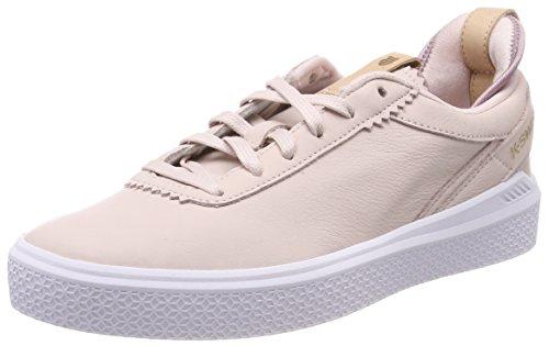 K-Swiss Damen Dani Sneaker, Pink (Chalk/White/Deauville Mauve), 39 EU
