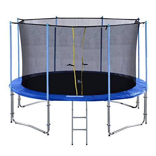 Exacme TUV Approved Heavy Duty Trampoline with Intra Enclousre Net,...