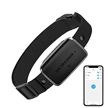 Dr.Trainer B1s Bark Collar Rechargeable Dog Bark Collar with App Control & Smart Progressive Mode No Bark Collar for Small Medium Large Dogs