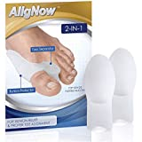 Bunion Relief Pack - 2 Bunion Pads Toe Spreaders - for Pain Relief and Proper Toe Alignment